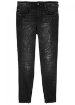 True Religion Mick Distressed Skinny Jeans