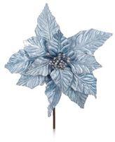 Kurt Adler Glittered Poinsettia Ornament