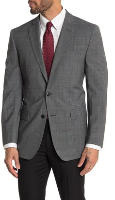 Brooks Brothers Gray Plaid Two Button Notch Lapel Regent Fit Suit Separates Jacket