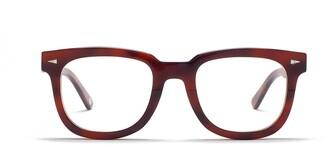 AHLEM Square Du Temple Optic Brown Turtle Glasses