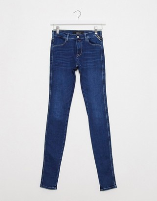 Replay Stella super skinny jeans with power stretch-No Colour