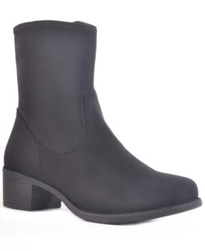 dav Manhattan Waterproof Women's Mid-Height Nylon Rain Boot Women's Shoes