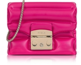 Furla Pinky Rubber Metropolis Oxygen Mini Crossbody Bag