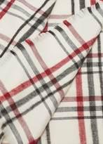MANGO Plaid scarf