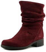 Martino of Canada Chantelle Women US 8.5 Burgundy Mid Calf Boot