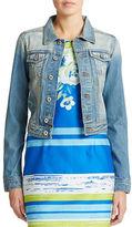 Chetta B Cotton Denim Jacket