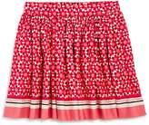 Kate Spade Girls' Floral Tile Skirt