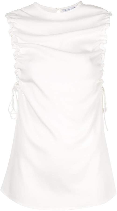 Stratus ruched tank top