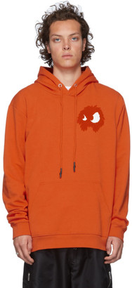 McQ Orange Chester Hoodie