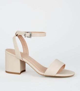 New Look Girls 2 Part Block Heel Sandals