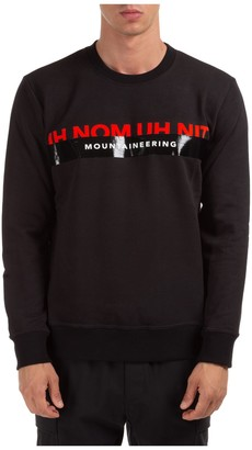 Ih Nom Uh Nit Logo Print Sweatshirt