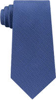 Michael Kors Men's Satin Chevron-Stripe Silk Tie