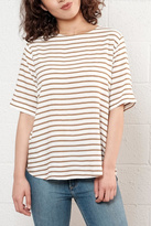 B.young Relaxed Striped Top