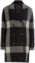 Barbara Bui Plaid Coat