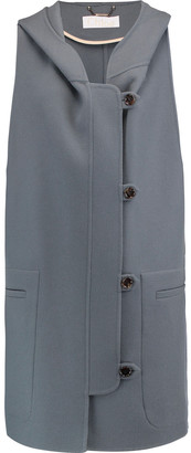 Chloé Wool And Cashmere-blend Hooded Coat