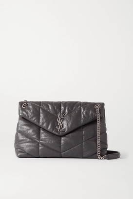 Saint Laurent Loulou Quilted Leather Shoulder Bag