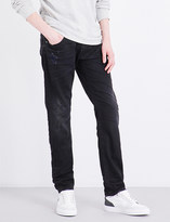 Diesel Thommer slim-fit mid-rise tapered jeans