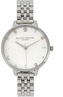 Olivia Burton Celestial Silver-plated Watch
