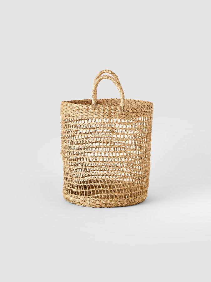Connected Goods Open Weave Basket
