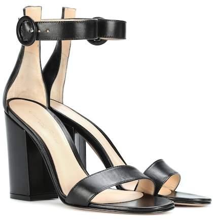 Gianvito Rossi Versilia leather sandals