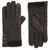 John Varvatos Men's Deerskin Leather Gloves