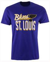 '47 Men's St. Louis Blues Script Splitter T-Shirt