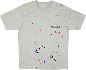 PROFOUND Paint Splatter Logo Pocket Tee
