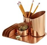 Design Ideas Bainbridge Desktop Organizer - Metallic
