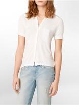 Calvin Klein Jeans Button-Front Short Sleeve Shirt