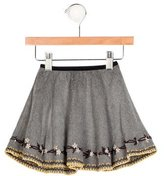 Caramel Baby & Child Girls' Embroidered Flare Skirt