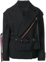 Proenza Schouler zipped fitted jacket
