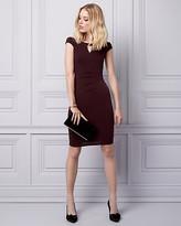 Le Château Knit Off-the-Shoulder Shift Dress