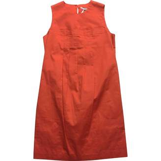Hope Orange Cotton Dress for Women