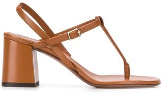 L'Autre Chose 75mm slingback sandals
