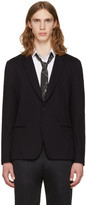 Paul Smith Navy Two-button Blazer
