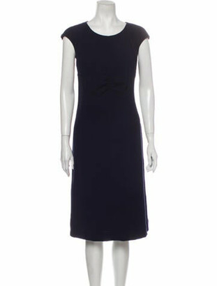 Chanel 2008 Midi Length Dress Blue