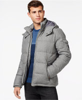 GUESS Quilted Down-Filled Jacket with Removable Hood