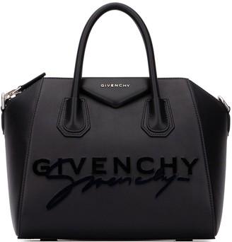 Givenchy Small Antigona Signature Logo Tote Bag