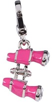 Juicy Couture Pink Binoculars Charm (Silver) - Jewelry