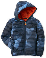 save the duck (Boys 4-7) Hooded Ultra Light Puffer Jacket