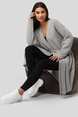 Dilara X NA-KD Knitted Pocket Cardigan