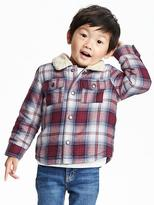 Old Navy Sherpa-Lined Shirt Jacket for Toddler