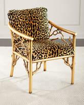 John-Richard Collection Leopard Branch Chair