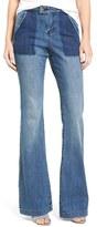 Sun & Shadow Women's Flare Leg Jeans