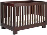 Babyletto Modo 3-in-1 Crib with Toddler Rail - Espresso