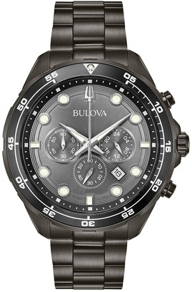Bulova Men's Quartz Analog Bracelet Watch Set, 44mm