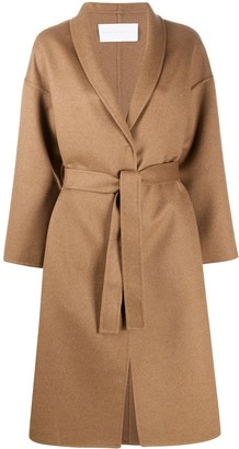 Fabiana Filippi Belted Wrap Coat