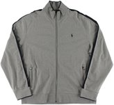 Polo Ralph Lauren Mens Big & Tall Heathered Signature Jacket Gray