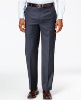 Lauren Ralph Lauren Wool Blue Check Classic-Fit Dress Pants