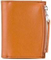 Maison Margiela zip compartment billfold wallet - men - Calf Leather - One Size